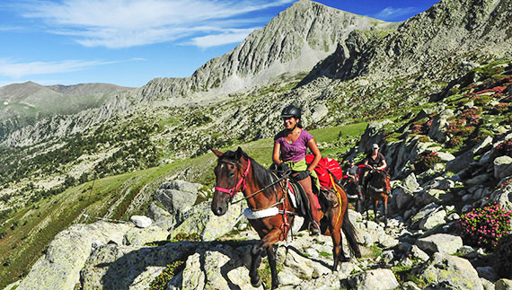 Pyrenean Trail Riding