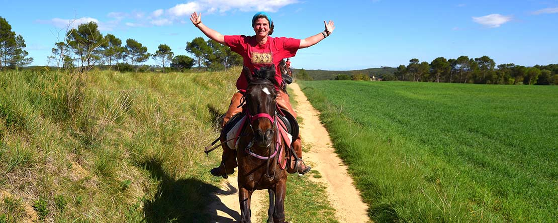 Riding reliable horses Costa Brava