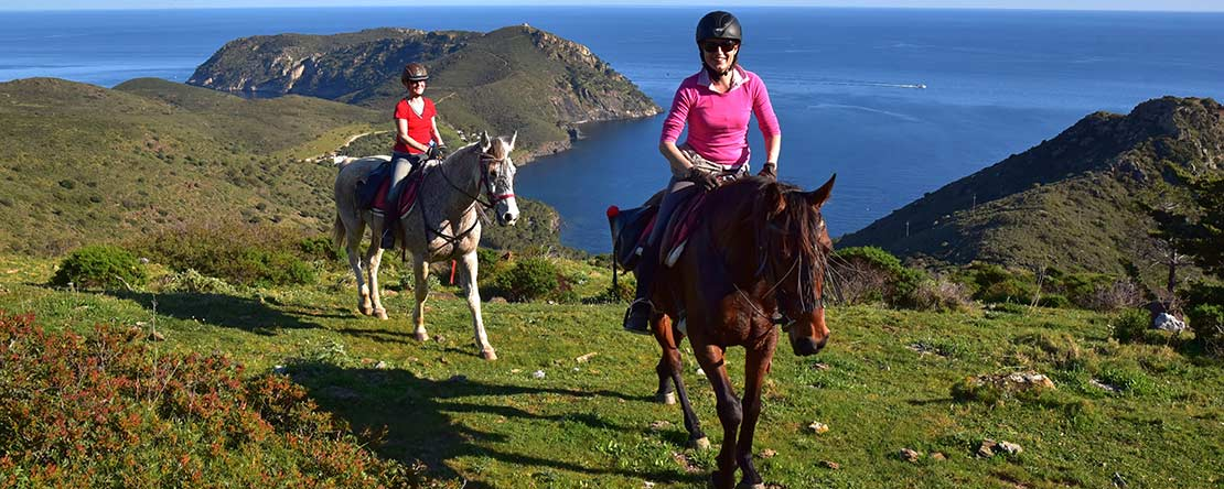 Costa Brava on horseback