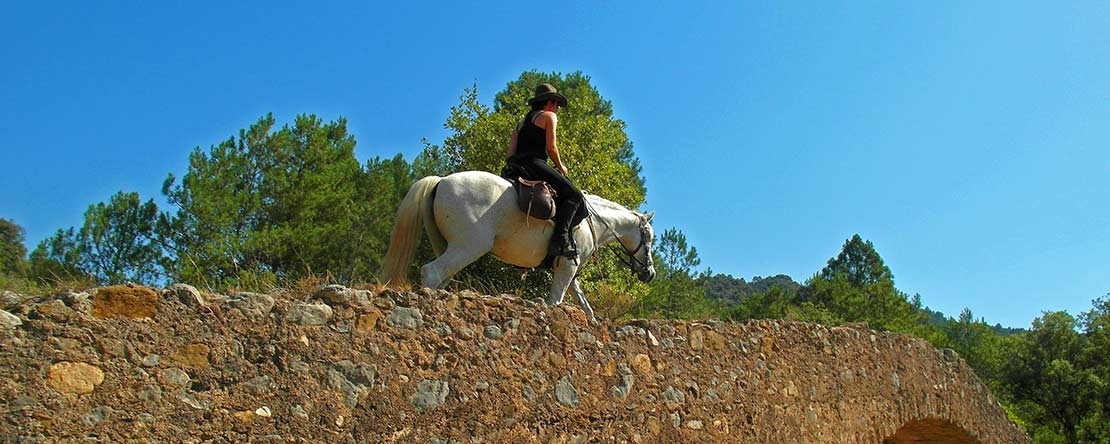Riding on ancient paths in Spain