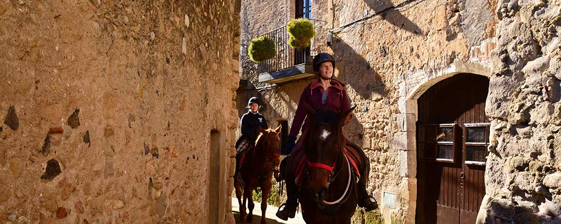 Holiday Spanish horses history
