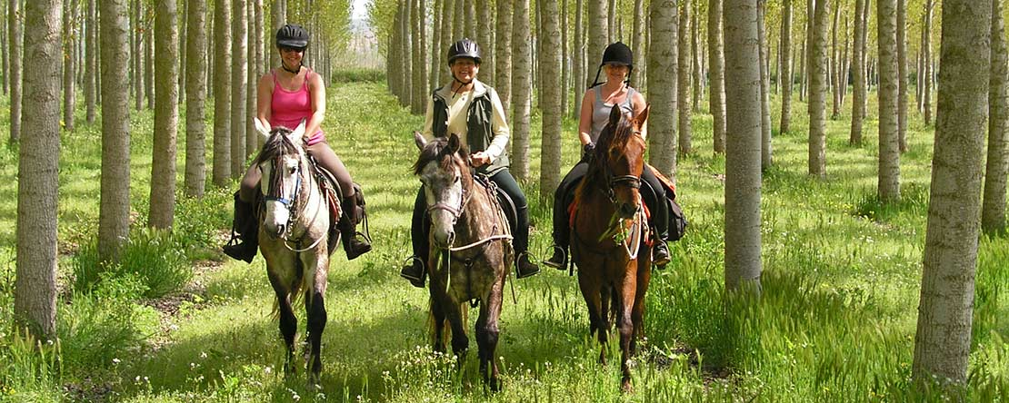 Horse riding weekend break Spain