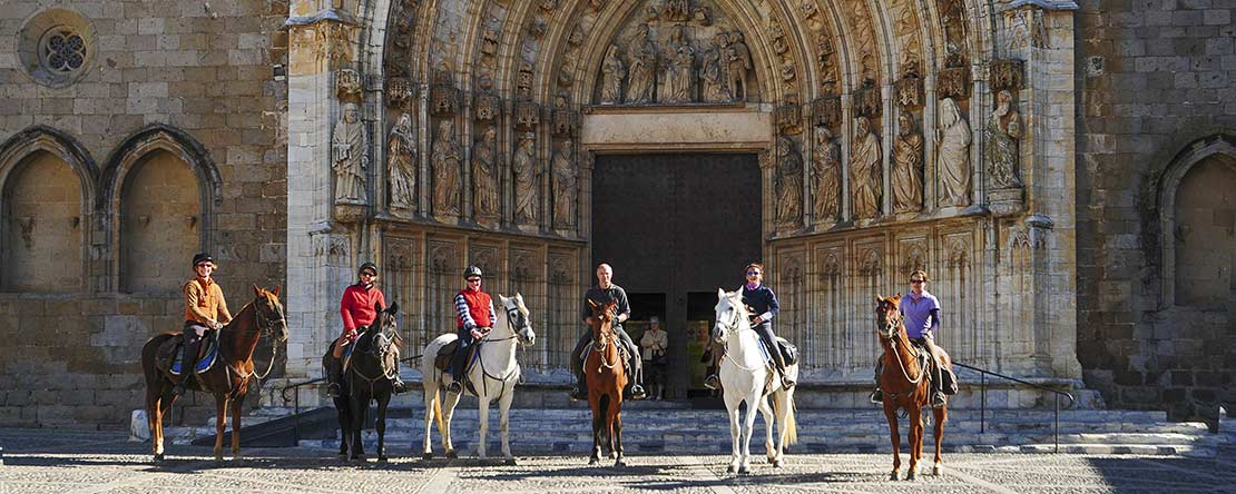 Trail ride Catalonian history