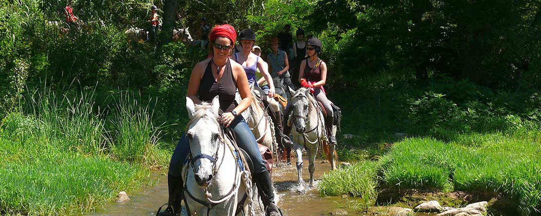 Adventure trail ride northern Spain