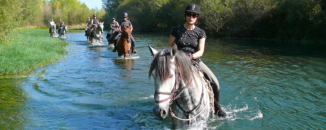 Trail ride with challenges Costa Brava