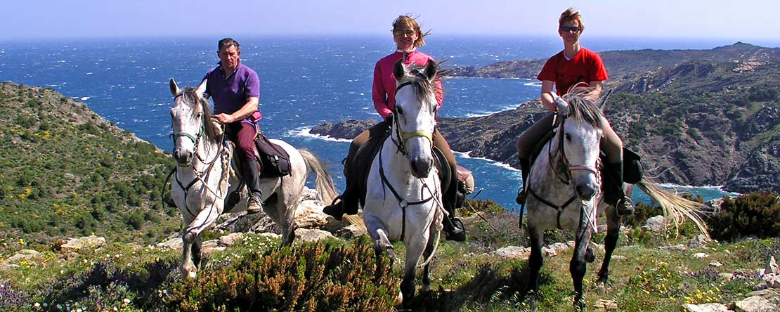 Amazing views on horseback Spain