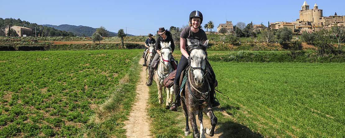 Horse riding holidays Catalonia
