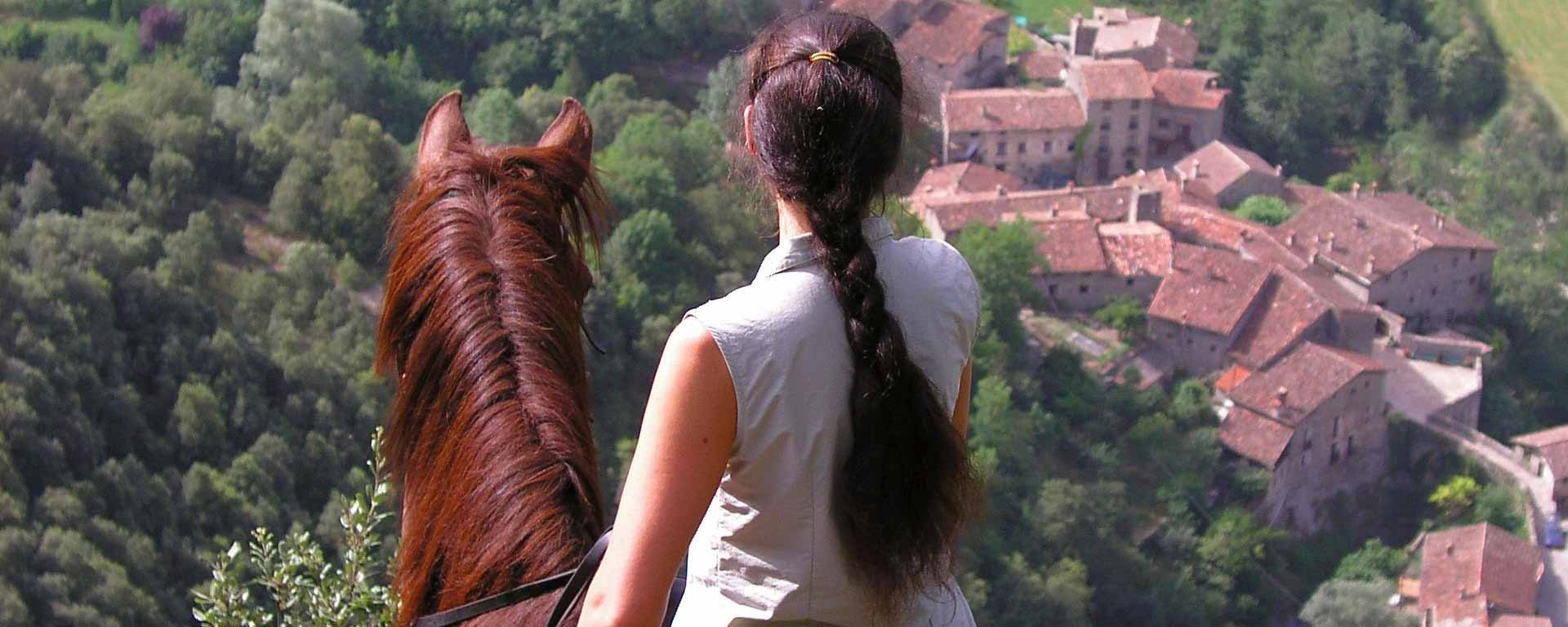 Pyrenees High Mountain Horse Trail