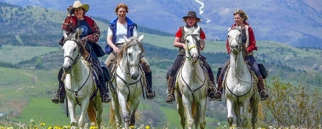 Horse riding adventure Catalonia