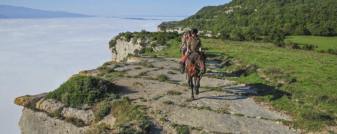 Horse riding Pyrenees Costa Brava