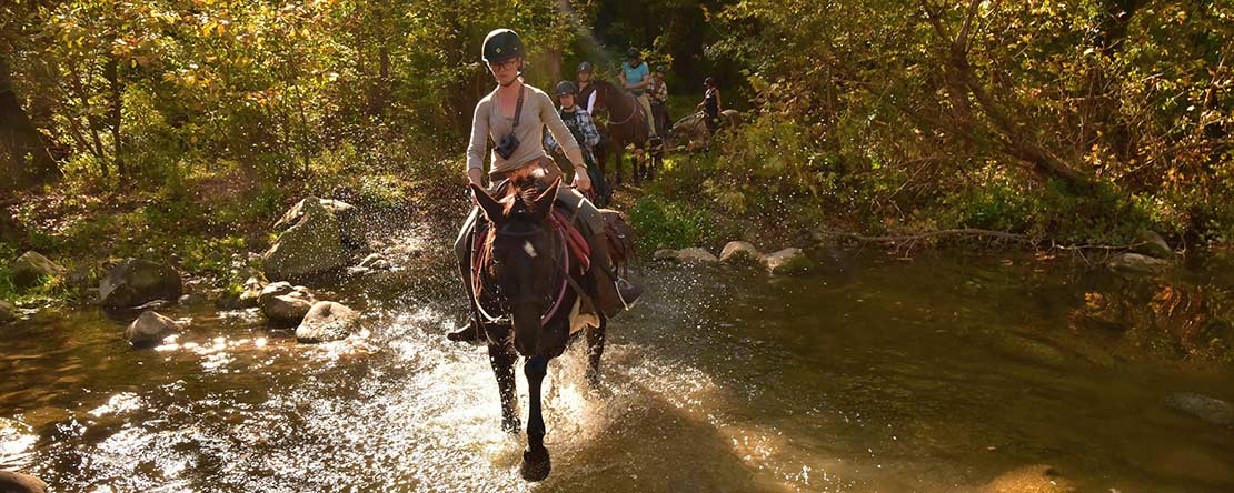 Trail ride challenge Costa Brava