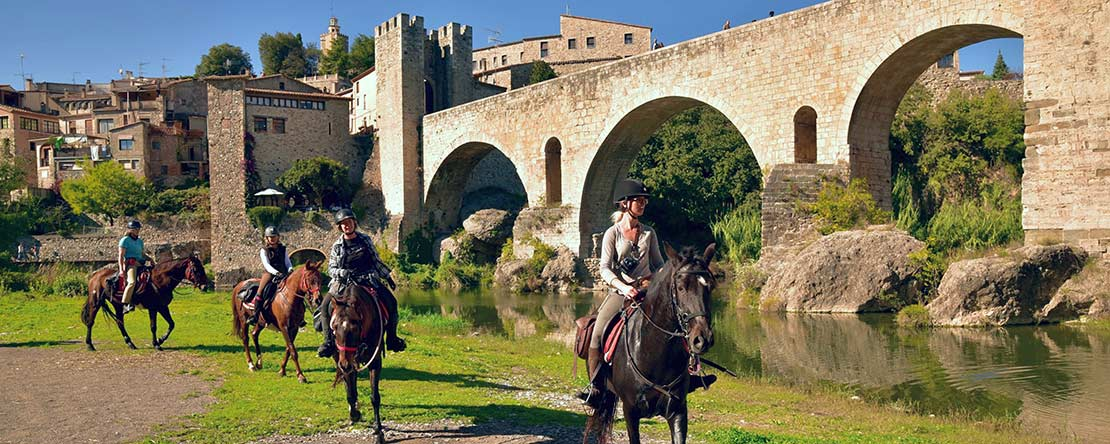 Medieval Catalonia on Spanish horses