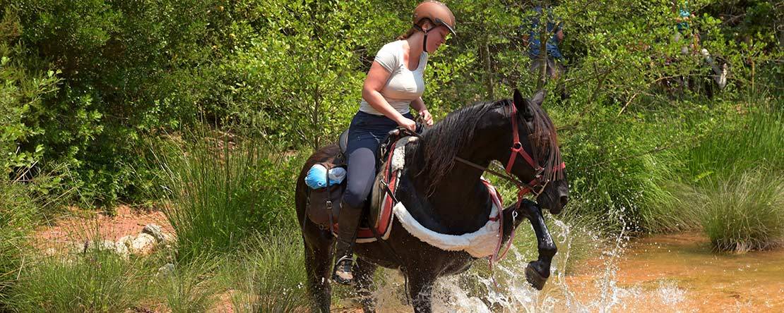 Trail riding experience Spain
