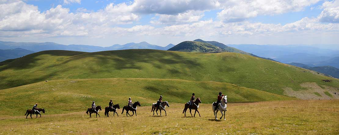 Remoteness tranquillity horse riding Spain