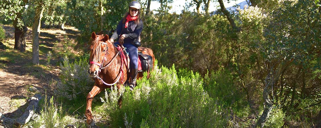 Fun trail ride Costa Brava
