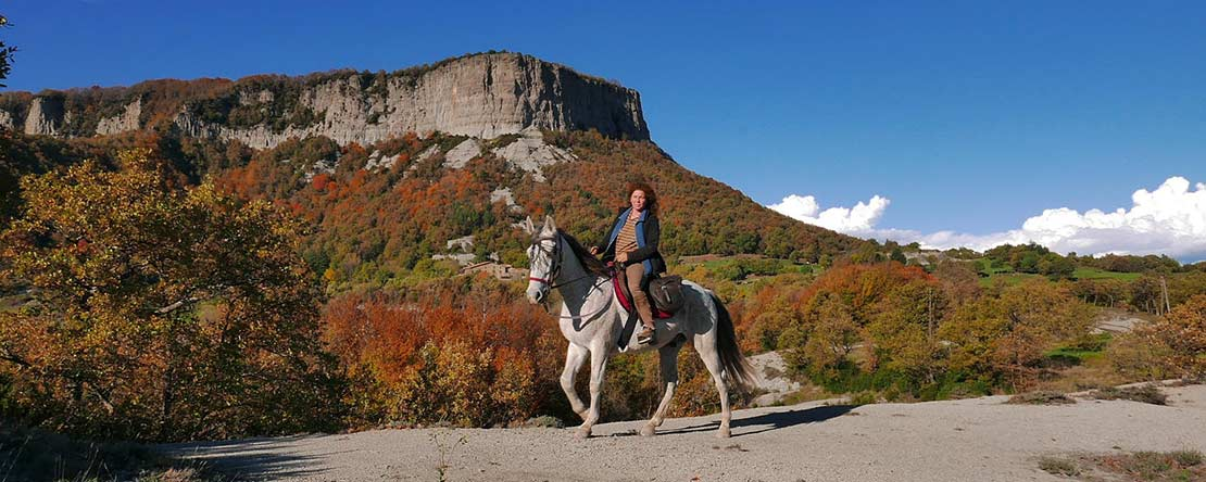 Catalonian Indian summer adventure on horseback