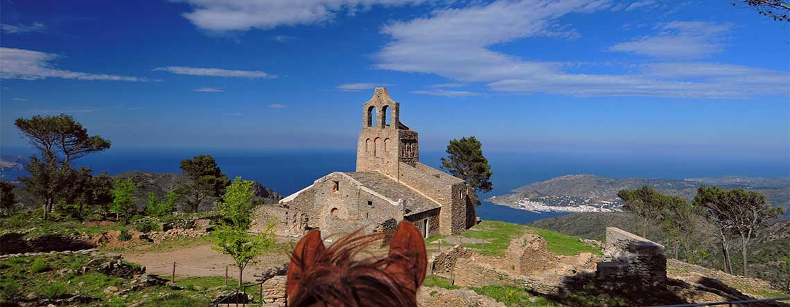 Unique views historic sites on horseback Spain