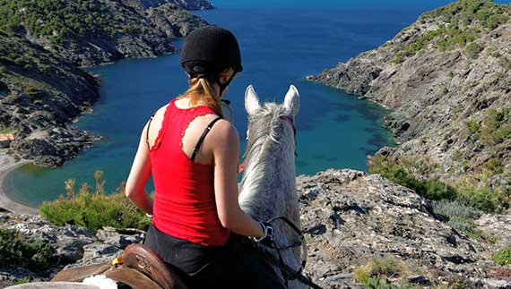 Catalan Coast & Spanish Horses Summer Trail